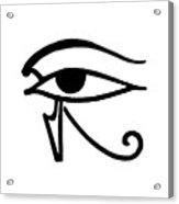 Egyptian Utchat Acrylic Print