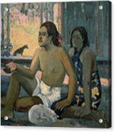 Eiaha Ohipa Or Tahitians In A Room Acrylic Print