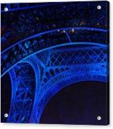 Eiffel Blue Acrylic Print