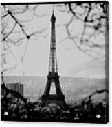 Eiffel Eyeful Acrylic Print