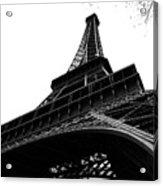 Eiffel From An Angle Acrylic Print