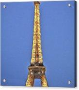 Eiffel Tower 17 Art Acrylic Print
