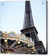 Eiffel Tower 7 Acrylic Print