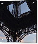 Eiffel Tower Corner Acrylic Print