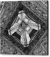 Eiffel Tower From Below Acrylic Print