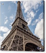 Eiffel Tower In Paris Acrylic Print