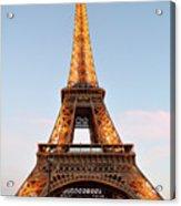 Eiffel Tower Lighted  Acrylic Print