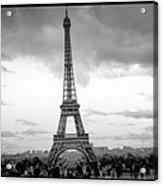 Eiffel Tower -panoramic. Acrylic Print