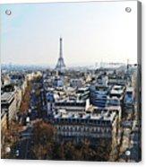 Eiffel Tower Paris France Acrylic Print