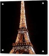 Eiffel Tower Sparkling Acrylic Print