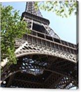 Eiffel Tower Spring Acrylic Print