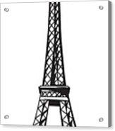 Eiffel Tower Up Acrylic Print