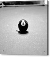 Eight Ball 3 Acrylic Print