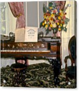 Eighteenth Century Piano And Parlor Acrylic Print
