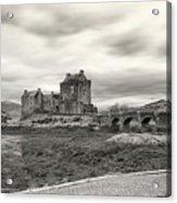 Eilean Donan Castle Bw 1337 Acrylic Print