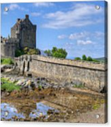 Eilean Donan Castle In Scotland Acrylic Print