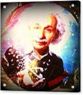Einstein On Pot Acrylic Print
