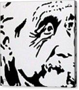 Einstein Waiting In Line Acrylic Print