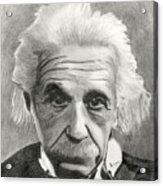 Einstein's Eyes Acrylic Print