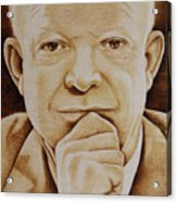 Eisenhower - The Man  Acrylic Print