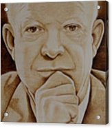 Eisenhower The Man - Poster Acrylic Print