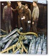 Eisenhower: Wwii, C1944 Acrylic Print