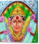 Ekvira Devi Acrylic Print by Kalpana Talpade Ranadive