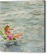 El And Water Acrylic Print