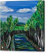 El Camino - El Verano - The Path - Summer Acrylic Print