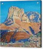 El Capitan At The Guadalupe Peaks Acrylic Print