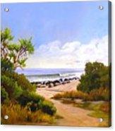 El Capitan Beach Acrylic Print
