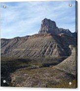 El Capitan - Guadalupe Mountains National Park Acrylic Print