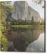 El Capitan In Reflection Acrylic Print