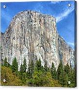 El Capitan In Yosemite National Park Acrylic Print