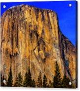 El Capitan Mountain Acrylic Print