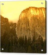 El Capitan Yosemite Valley Acrylic Print