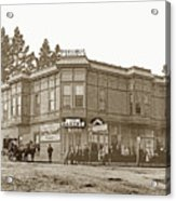 El Carmelo Bakery Lighthouse And Forest Ave. Circa 1890 Acrylic Print