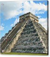 El Castillo Of Chichen Itza Acrylic Print