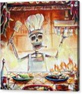 El Cocinero Acrylic Print