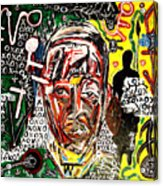 El Congo Acrylic Print