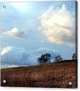 El Dorado Hills Skyscape Acrylic Print