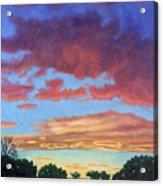 El Dorado Sunset Acrylic Print