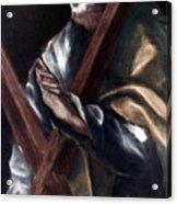 El Greco: St. Andrew Acrylic Print