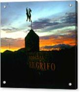 El Grifo Acrylic Print