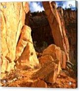 El Malpais La Ventana Arch Acrylic Print