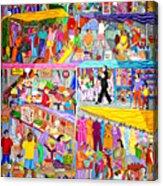 El Mercado Acrylic Print
