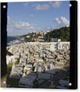 El Morro Cemetery Framed Acrylic Print