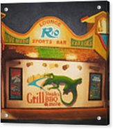El Rio Acrylic Print by Vikki Wicks
