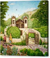 El Santuario De Chimayo Acrylic Print