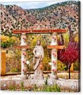El Santuario De Chimayo Sculpture Garden 3 Acrylic Print
